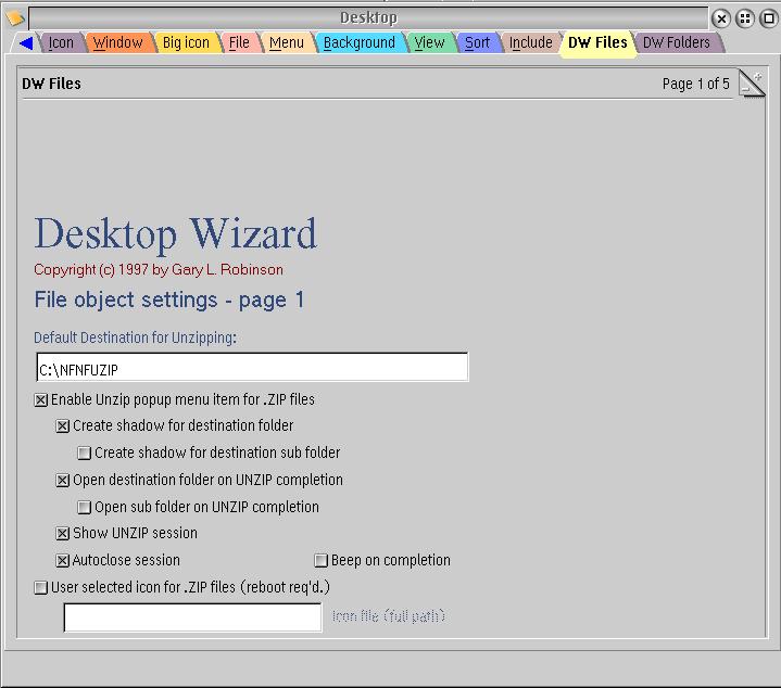 Desktop Wizard - OS2World com Wiki